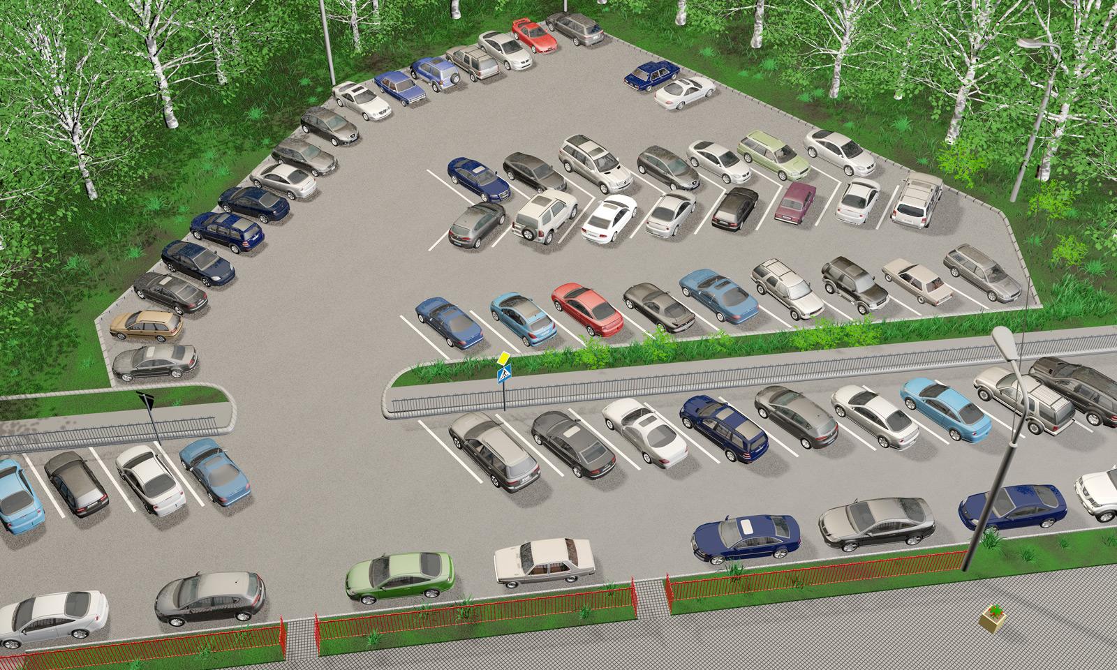 Как правильно сделать парковку на придомовой территории